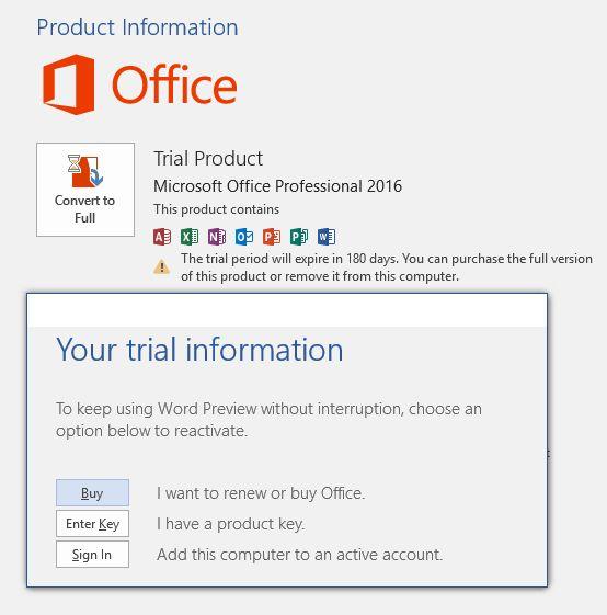 Office 2016 - WinFuture-Forum de